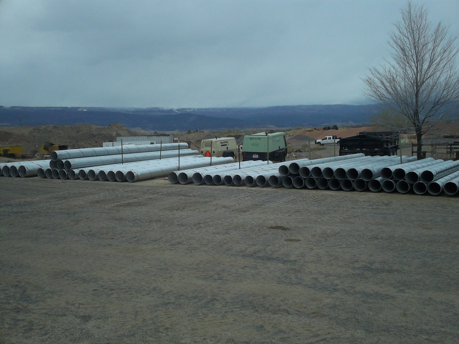medium culverts at Benson Bros